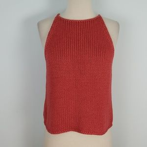 Banana Republic chunky knit halter top